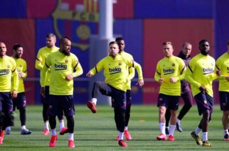 لاعبو برشلونة يخضعون لاختبارات كوروناقبل العودة للتدريب