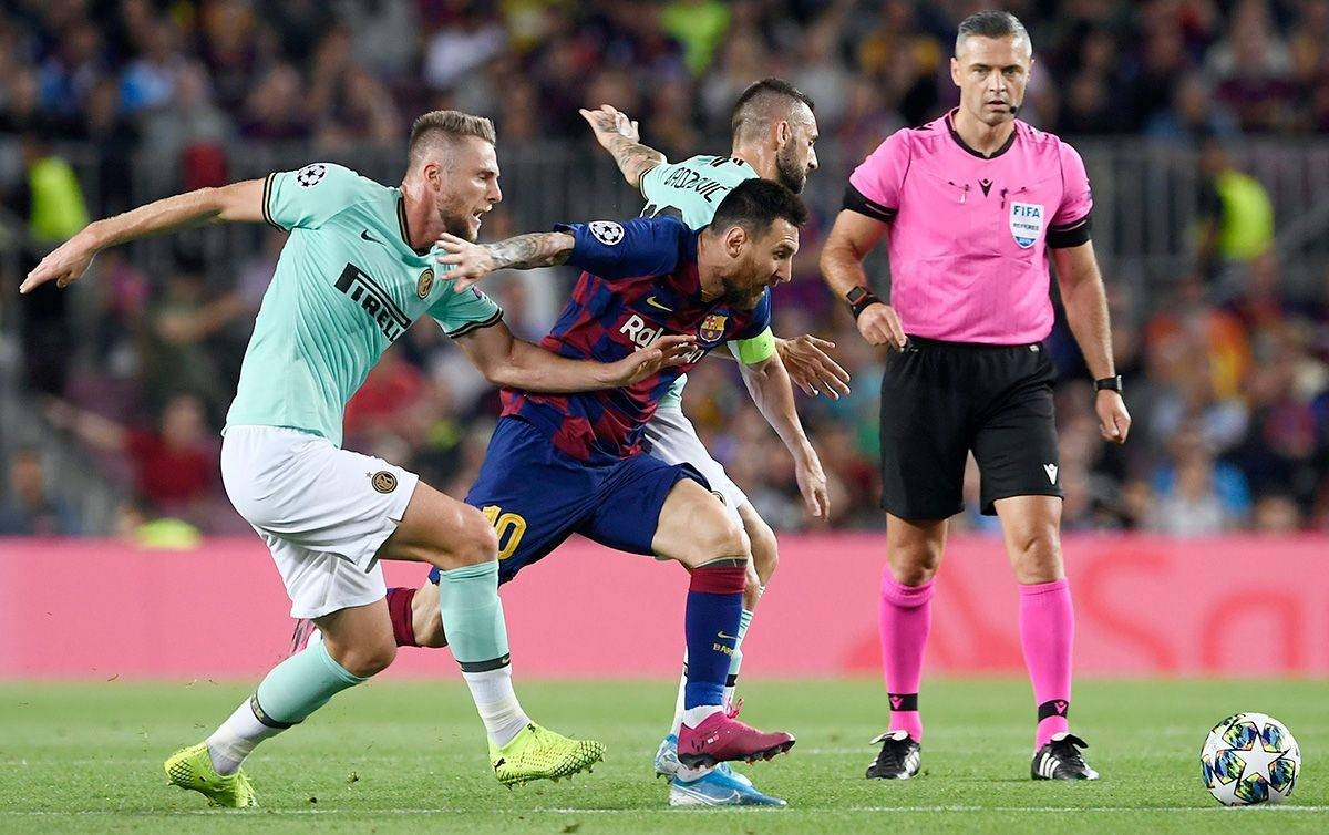 صفقة برشلونة وانتر