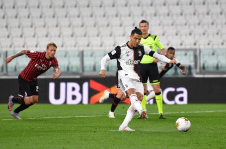 يوفنتوس يتأهل إلى نهائي كأس إيطاليا ورونالدو يهدر ضربة جزاء