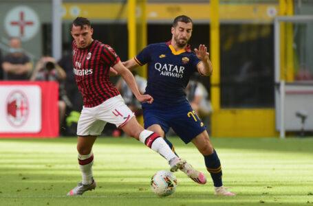 ميلان يتفوق على روما بثنائية ويقضي على أماله في التأهل لدوري أبطال أوروبا