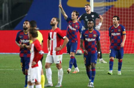 إيفان راكيتيتش ينقذ برشلونة من فخ التعادل مع أتلتيك بلباو