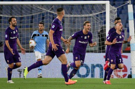 لاتسيو يتفوق على فيورنتينا ويواصل ملاحقة يوفنتوس على صدارة الدوري الإيطالي