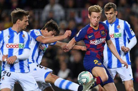 برشلونة يعلن إصابة لاعب خط الوسط الهولندي دي يونغ