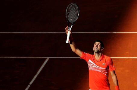 إصابة نجم التنس الصربي ديوكوفيتش بفيروس كورونا