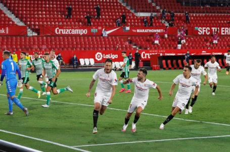إشبيلية يحسم ديربي الأندلس في ليلة عودة الدوري الإسباني