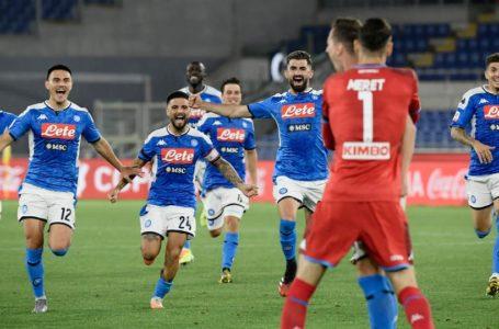 نابولي يتوج بكأس إيطاليا للمرة الرابعة في تاريخه عقب فوزه على يوفنتوس