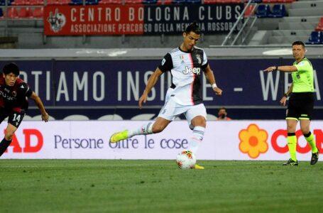 رونالدو يتفوق على روي كوستا ليصبح الهداف البرتغالي الأول في الدوري الإيطالي