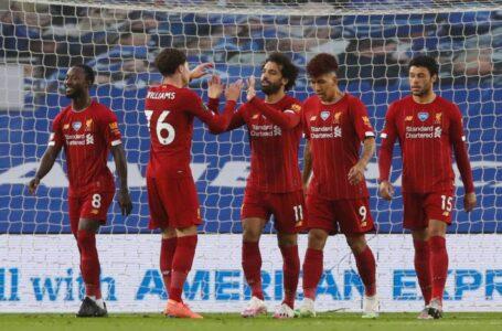 هدفي صلاح يمنح ليفربول الفوز على برايتون