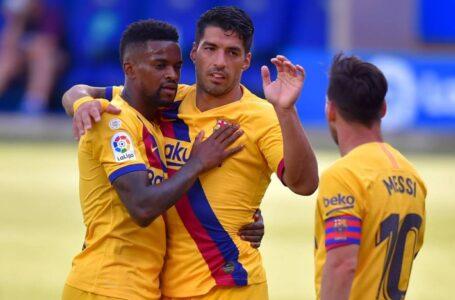 برشلونة يكتسح ديبورتيفو ألافيس بخماسية نظيفة