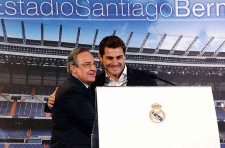 إيكر كاسياس يعود إلى ريال مدريد في منصب جديد
