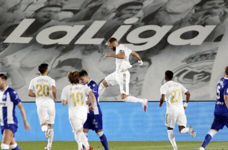ريال مدريد يحسم لقاء ألافيس ويقترب من اللقب