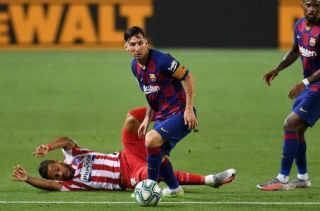 برشلونة يسقط في فخ التعادل مع أتلتيكو مدريد