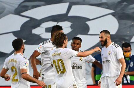 رسمياً ريال مدريد يتوج بلقب الدوري الإسباني للمرة 34 في تاريخه