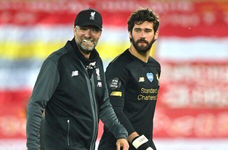 أليسون يشيد في يورجن كلوب ويؤكد أنه بدأ للتو في ليفربول