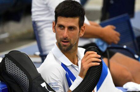 استبعاد دجوكوفيتش من بطولة أمريكا المفتوحة للتنس